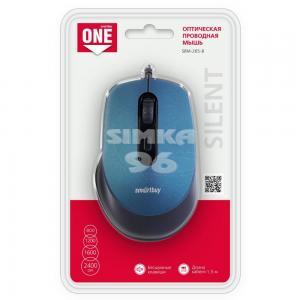 Мышь проводная Smartbuy ONE SBM-265 бесшумная
