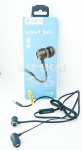 Наушники вакуумные с микрофоном Celebrat G10