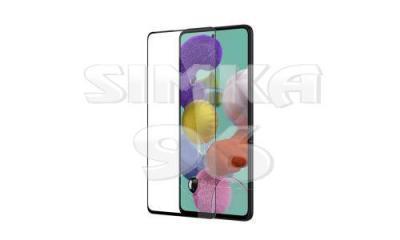 Защитное силиконовое стекло для Samsung A12 3D