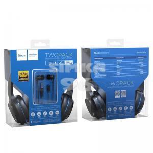 Наушники HOCO W24 2 в 1 с микрофоном