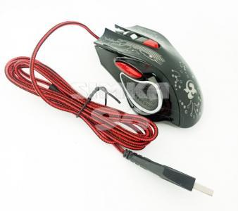 Мышь проводная игровая К65 светящаяся