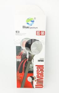 Наушники вакуумные с микрофоном Blue Spectrum BS-08
