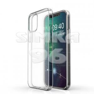 Чехол задник для iPhone 12 PRO MAX гель плотный прозр.