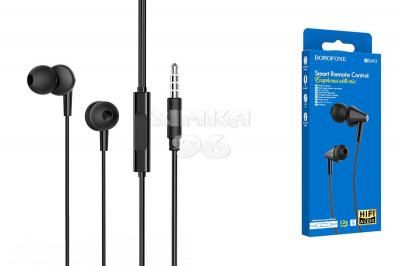 Наушники BOROFONE M49 вакуумные c микрофоном