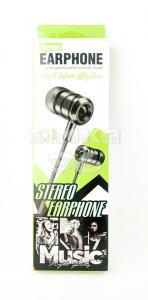 Наушники Stereo Earphone L13 вакуумные с микрофоном
