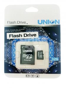 MicroSD UNION 32Gb 10 Class