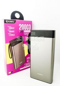 Портативное зарядное устройство Power Bank 20000 mAh KAKU KSC-499