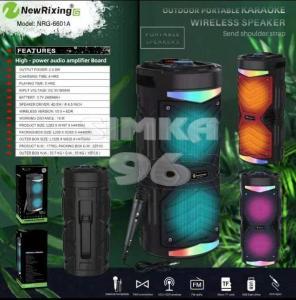 Колонка Bluetooth New Rixing NRG-6601A+микрофон