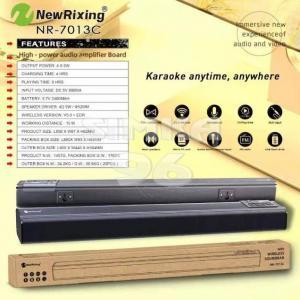Колонка Bluetooth New Rixing NR-7013С+микрофон