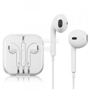Наушники вкладыши с микрофоном   iP EarPods Or с регулятором громкости